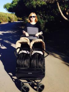 Carrito gemelar Easy Twins de Baby Monster