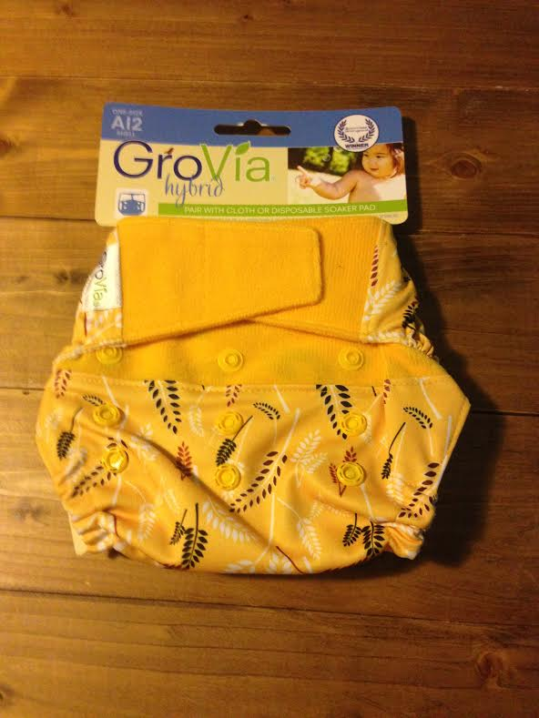Cobertor Grovia híbrido pañales de tela