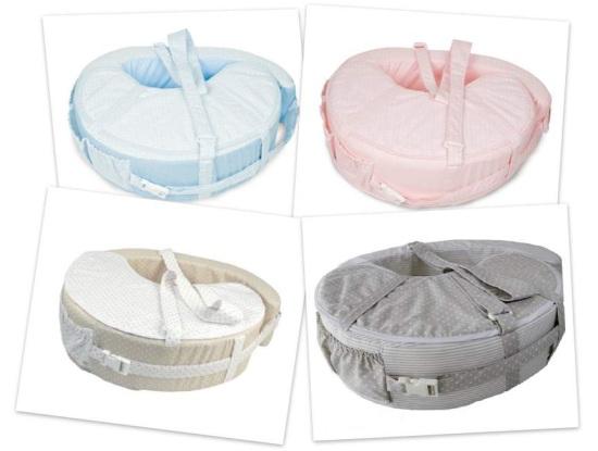 Relatos de lactancia materna con gemelos II: almohada de lactancia