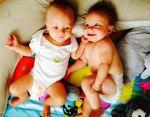 pañales gemelos