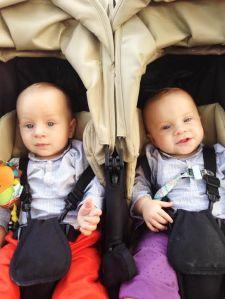 Carro gemelar Easy twins