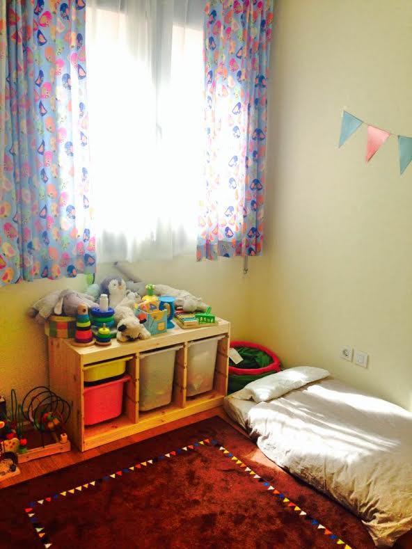 Montessori y la habitaci n de los gemelos - Suelo habitacion ninos ...